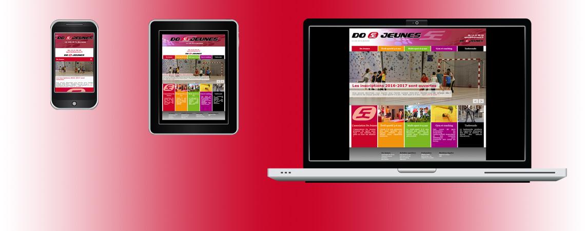 Nouveau site internet pour Do Jeunes