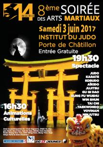8ème soirée des Arts Martiaux - Paris 14